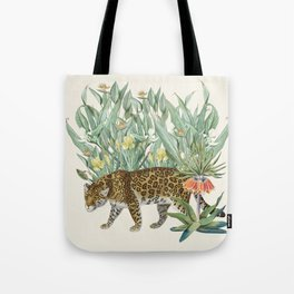 Floral Tiger Jungle Tote Bag