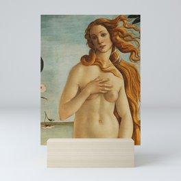 The Birth of Venus detail Mini Art Print