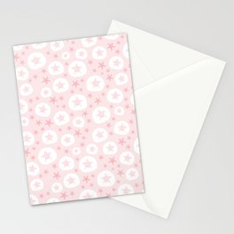 Starfish and sand dollars Stationery Cards