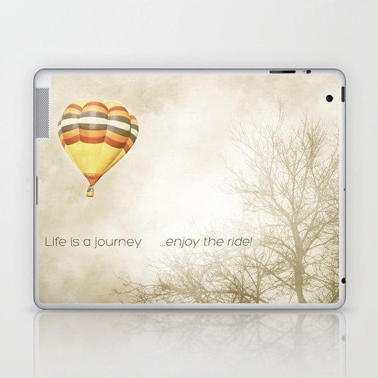 ...enjoy the ride! Laptop & iPad Skin
