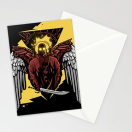 Apocaliptic Angel Stationery Cards