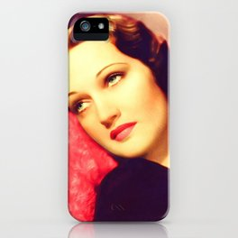 Dorothy Lamour, Vintage Actress iPhone Case