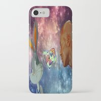 space jam iPhone & iPod Cases featuring Space Jam by Emil Engström
