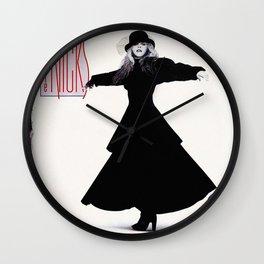 stevie nicks - rock a little cover - Wall Clock