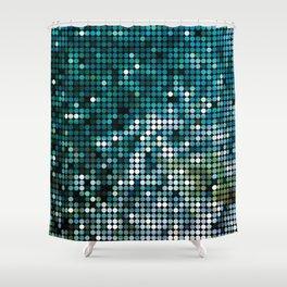 Mosaic ocean Shower Curtain