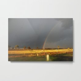 Calm of the Storm Metal Print