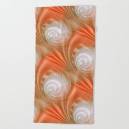 time for abstraction -2- Beach Towel