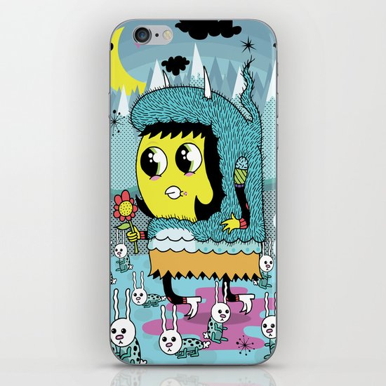 The Birds and the Bunnies  iPhone & iPod Skin