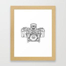 Fuji GX Camera Framed Art Print