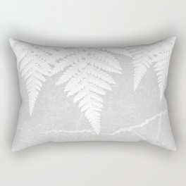 Fern fringe - concrete Rectangular Pillow