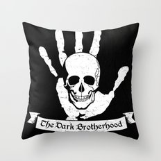 The Dark Brotherhood Throw Pillow