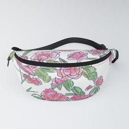 Wild Rose Bush Fanny Pack