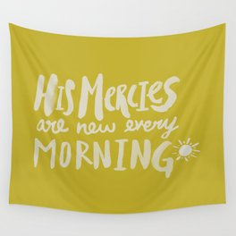 Mercy Morning x Mustard Wall Tapestry