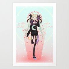 ☽ Pretty Soldier ☾ Art Print