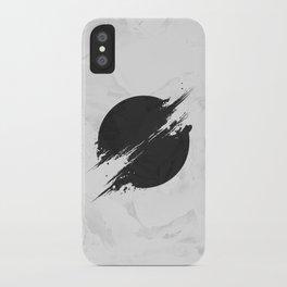 The Sun Is Black iPhone Case