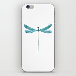 Dragonfly, watercolor iPhone Skin