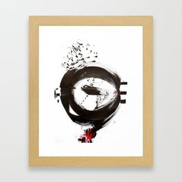 Kollage n°190 Framed Art Print