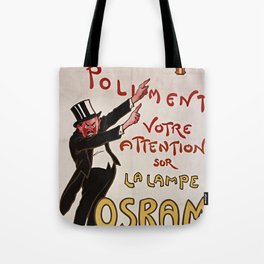 Old Sign / Osram Tote Bag