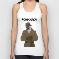 rorschach Tank Tops featuring Rorschach by Design Sparks