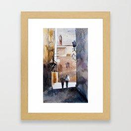 akwarelka 73 Framed Art Print
