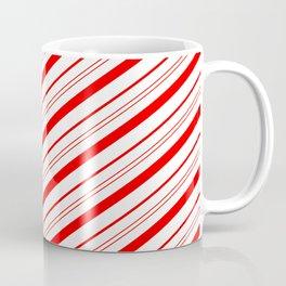 Candy Cane Stripes Kaffeebecher
