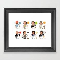 Murrays Complete Set Framed Art Print