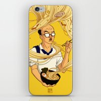 ramen iPhone & iPod Skins featuring Ramen by Jiaqi He