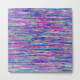 Every Color 160 - Bright static pattern Metal Print