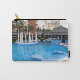 Solana Hotel Swimming Pool Benidorm Spain Carry-All Pouch