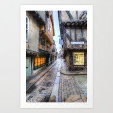The Shambles Street York Art Print
