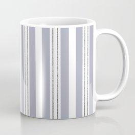 Bold Stripes with Glitter Look Pin Stripes Coffee Mug