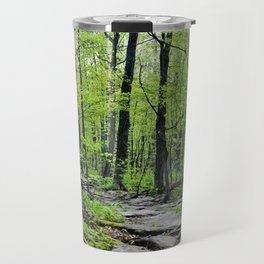 Lead and I will Follow You into the Woods by Reay of Light Travel Mug