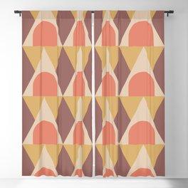 Elegant Art Deco Geometric Pattern 321 Blackout Curtain