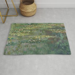 Monet - Water Lily Pond (Le Bassin Des Nympheas) Rug