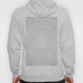 Mandala Soft Gray Hoody