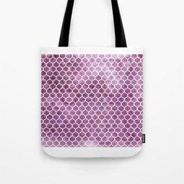 Rose Trellis Pattern Tote Bag