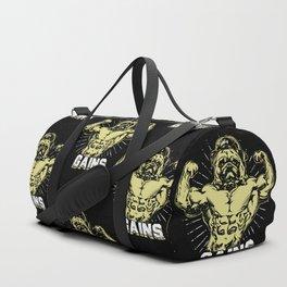 Gains Pug Duffle Bag