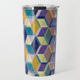 Cube Geometric VIII Travel Mug