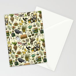 Magical Herbology Stationery Cards