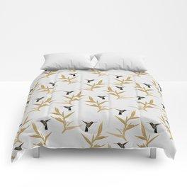 Hummingbird & Flower II Comforters