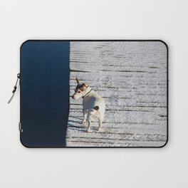 Dog going home Laptop Sleeve