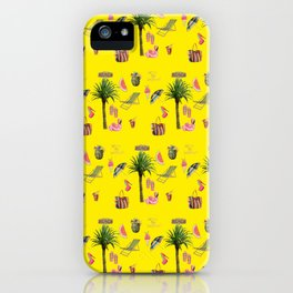 Aloha - Summer Fun 2B iPhone Case