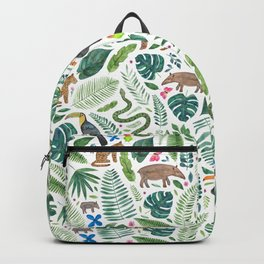 Jungle/Tropical Pattern Backpack