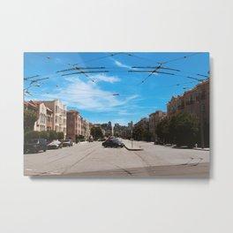 Street Views Metal Print