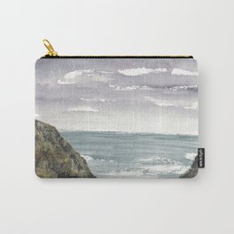 Atlantic Ocean Coastal Cliffs Carry-All Pouch