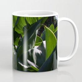 Green leafy love Coffee Mug