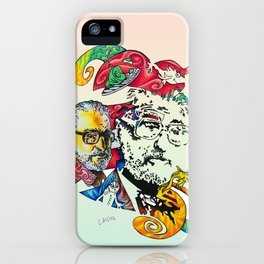 Homage to Theodor Seuss Geisel iPhone Case