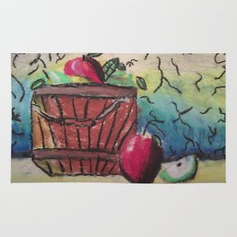Basket of Apples Rug