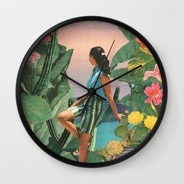 Botanical Cove Wall Clock
