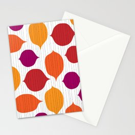 Shapes and Threads Stationery Cards